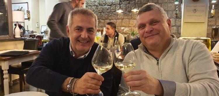 Il presidente Mihorko con il sindaco di Nola, Gaetano Minieri