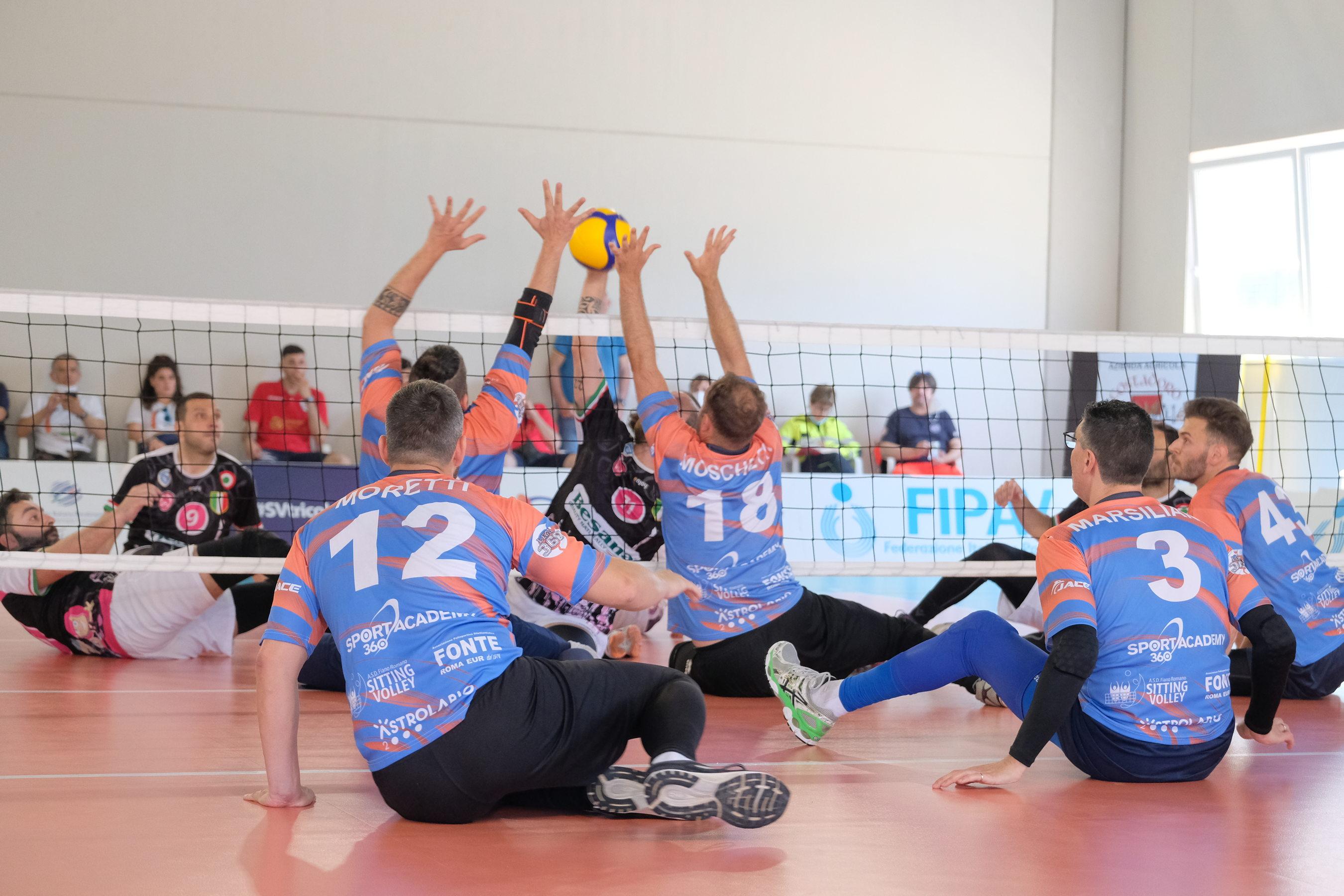 Nola Città dei Gigli sitting volley